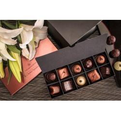 嚴選法國頂級Valrhona與Cacao Barry 巧克力(10顆裝)