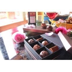 嚴選法國頂級Valrhona與Cacao Barry 巧克力(6顆裝)