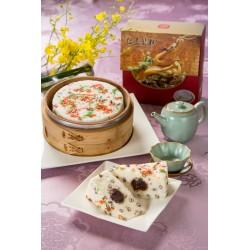 御饌紅豆鬆糕禮盒/6吋 (全素)
