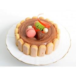 法式栗子蛋糕 6吋