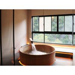 1F 景緻湯屋 (檜木桶池)
