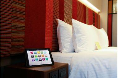iPad 智能客房
